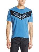Diesel Camiseta Manga Corta T-Patry (Cielo)