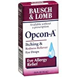 Bausch And Lomb *** Opcon-A Eye Drops B/L 0.5 Oz