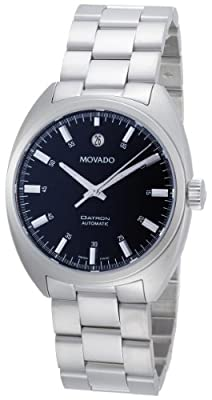 "Movado Men's 0606359 ""Datron"" Stainless Steel Automatic Watch"