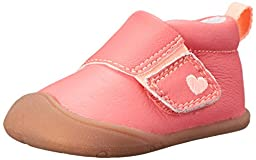 Carter\'s Every Step Abby Stage 1 Crawl Walking Shoe (Infant), Dark Pink, 3 M US Infant