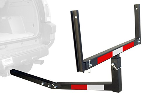 MaxxHaul 70231 Hitch Mount Truck Bed Extender (For Ladder, Rack, Canoe, Kayak, Long Pipes and Lumber) (Bed Truck Straps compare prices)