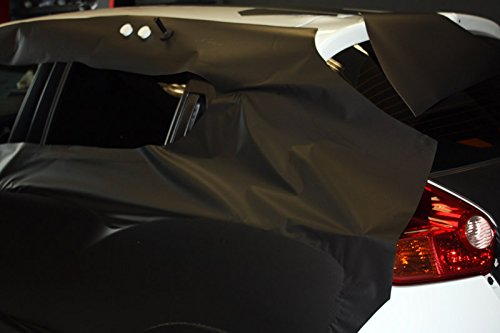 3M Scotchprint 1080 Carbon Fiber Vinyl Flex Wrap Black 152 x 100 cm
