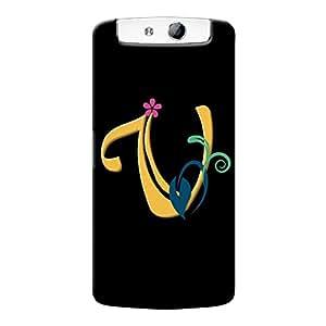 Mobile Back Cover For Oppo N1 (Printed Designer Case)