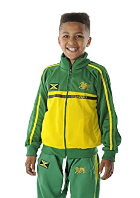 rasta4real CHILDRENS - LION OF JUDAH Rasta JAMAICA JACKET