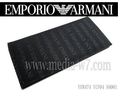 【2012 春夏 新作】エンポリオ アルマーニ メンズ 長財布 EMPORIO ARMANI YEM474 YCF04 88001/NERO
