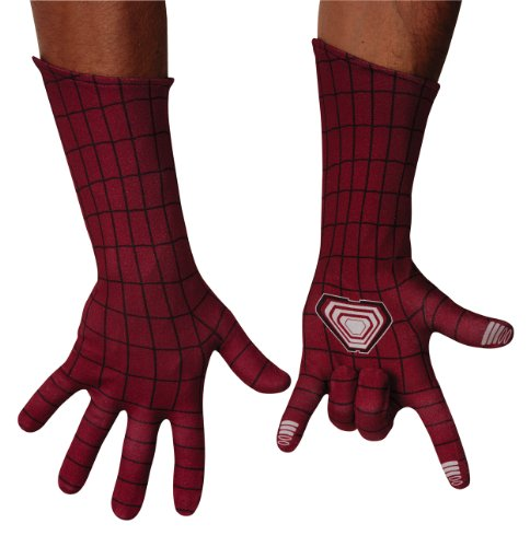 Disguise Men's Marvel The Amazing Spider-Man Adult Deluxe Gloves Costume Accessory
