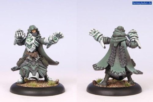 Privateer Press - Warmachine - Retribution: House Shyeel Magister Solo Model Kit