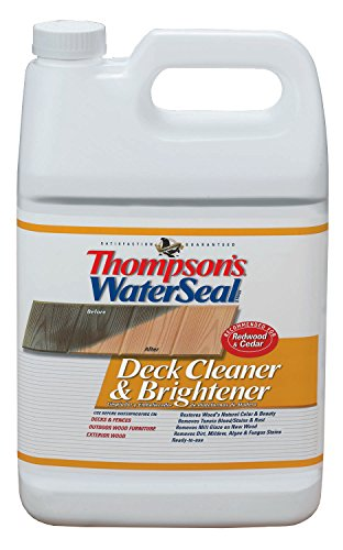 Thompsons Water Seal 87711 1-Gallon Deck Cleaner and Brightener (Wood Deck Cleaner compare prices)
