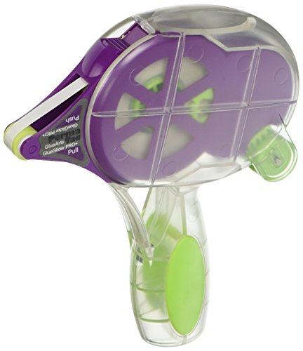 Glue Arts GlueGlider Pro Plus Dispenser and Cartridge, Perma Tac, 0.25 by 40-Feet (The Dispenser Cartridge compare prices)