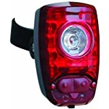 Cygolite Hotshot 2-Watt USB Rechargeable Taillight with USB Cable & Charger