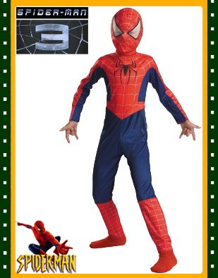 Spiderman 3 Spider-Man Costume Child Large 10-12 New - Buy Spiderman 3 Spider-Man Costume Child Large 10-12 New - Purchase Spiderman 3 Spider-Man Costume Child Large 10-12 New (BlockBusterClearance.com, Toys & Games,Categories)