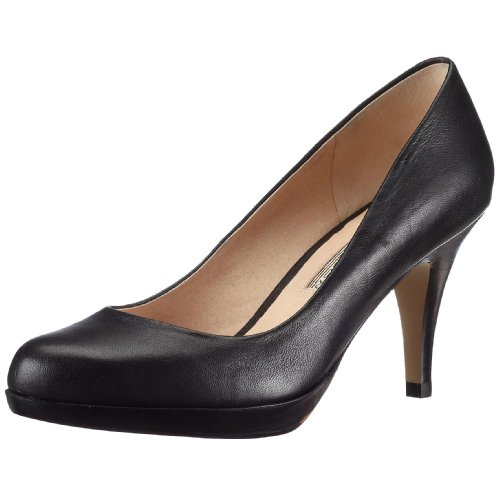 Buffalo 109-3499, Escarpins femme - Noir 01, 37 EU