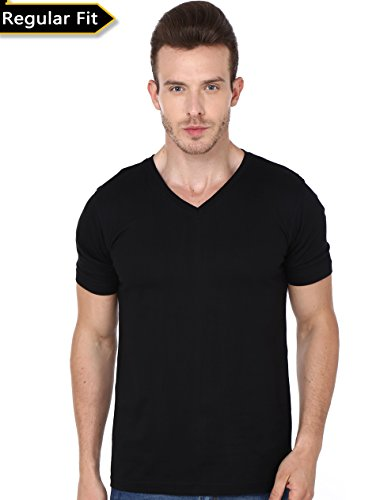 Men's Plain V Neck Tshirt