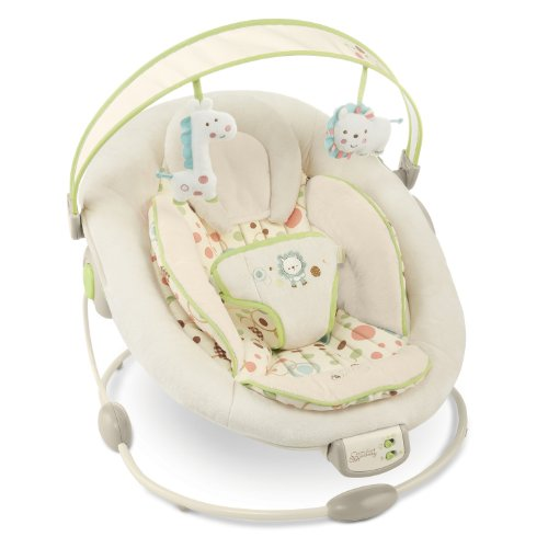 Bright Starts Comfort and Harmony Cradling Bouncer, Sandstone
