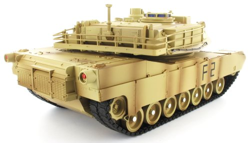 Imagen de Radio Controlled Tank M1A2 Abrams Fuerzas RC Toys