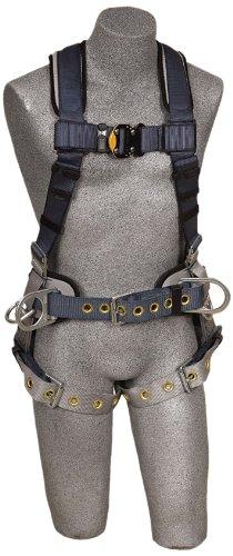 Dbi/Sala 1100531 Exofit Iron Worker Vest-Style Full Body Harness, Blue/Black, Medium front-835745