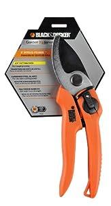 Black & Decker 7.5-Inch Bypass Pruner with Non-Stick Blades BD1123
