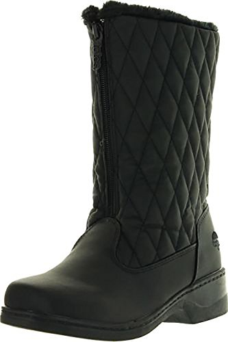 Totes Womens Quilty Fashion Waterproof Snow Boots Wide Width Size 10 US