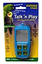 Jungle Talk Pet Products BJN47010 Play Phone Bird Interactive Toys, Large
