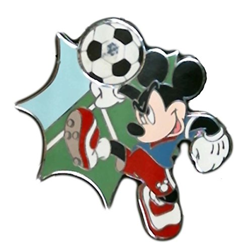 2013 Mickey Mouse Soccer Ball Kick Disney Pin Trading Collectible Lapel Pin