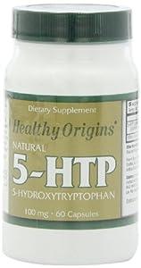 Healthy Origins 5-HTP Natural Multi Vitamins, 100 Mg, 60 Count