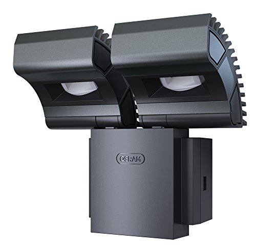 OSRAM-Noxlite-Spot-LED-Auenlampe-Khlkrper-aus-hochwertigem-Aluminium-2-x-8W-6000K-kaltwei-anthrazit
