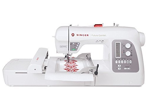 Singer 5-in-1 Futura 5 Quintet Computerized Sewing/Embroidery Machine With Accessories (Serger Auto Thread compare prices)