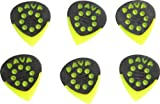 Dava Jazz Grip Nylon Small 6-Pack Light Green (Light Green)