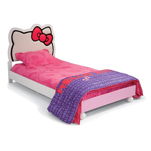 Hello Kitty Twin Bed