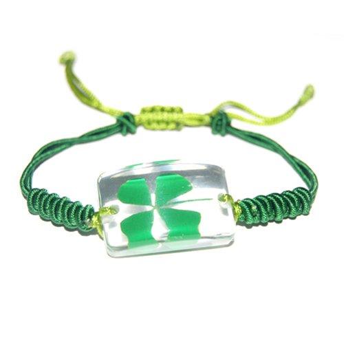 REALBUG Shamrock Bracelet, Clear