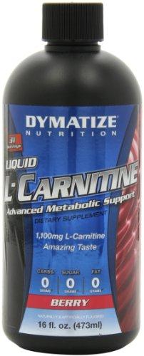 Dymatize Nutrition Liquid L-Carnitine 1100, Berry, 16 Ounce