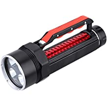 Alcoa Prime New 4*T6 6500LM 3 Mode Diving Flashlight Underwater 80m Waterproof LED Lamp Torch Scuba Light Ultra...