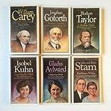 img - for Men of Faith, Women of Faith (6 Book Set) William Carey --Jonathan Goforth -- Hudson Taylor -- Isobel Kuhn -- Gladys Aylward -- John and Betty Stam book / textbook / text book