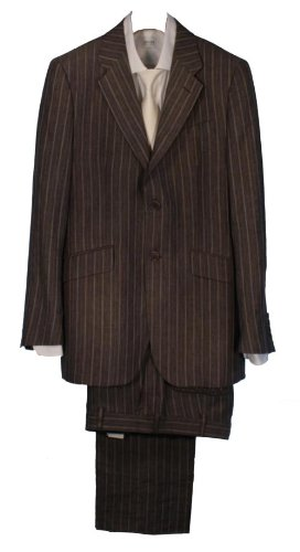 Paul Smith Single Breasted Suit Pinstripe - Grey