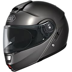 Shoei Neotec Anthracite SIZE:LRG Full Face Motorcycle Helmet by Shoei