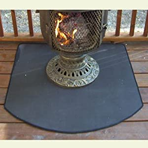 Amazon Com Fire Resistant Chiminea Outdoor Fireplace Pad