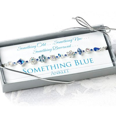 Something Blue Bride Anklet