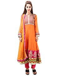 Imple Boutique Women's Kora Silk Salwar Suit Set (IBA-3)
