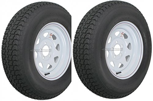 2-Pack Trailer Wheel & Tire #426 ST205/75D14 205/75 D 14