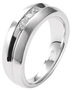 Fossil - JF15039040 - Bague Femme - Argent 925/1000 - Oxyde de Zirconium - T 56