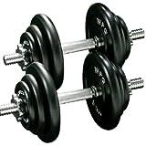 [WILD FIT ワイルドフィット] ダンベル セット アイアン 40kg