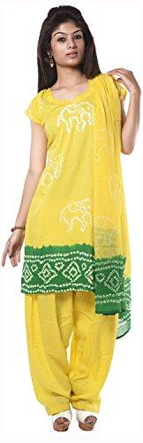 NITARA Women's Cotton Stitched Salwar Suit Sets - B01AJK2WUQ