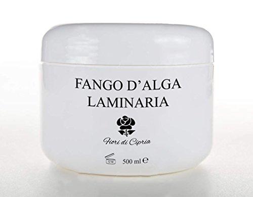 Il Miglior FANGO D'ALGA LAMINARIA - Formula a base di Argilla e Alga Laminaria micronizzata, arricchita con oli essenziali ed estratti ad azione rassodante - Ingredienti di Altissima Qualità - Prodotto Professionale (Centri Estetici o Farmacie) - Prodotto in Italia - 500 ml - Fiori di Cipria