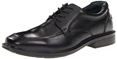 Hush Puppies Men's Winsted Oxford,Black,8 W US