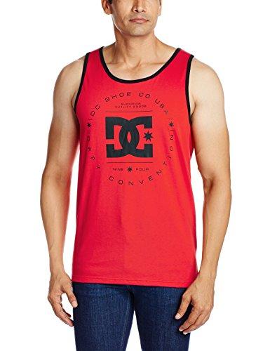 T-Shirt senza maniche DC Shoes: Rebuilt Tank RD, Rosso, XX-Large