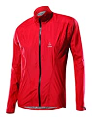 Loeffler W Bike Jacket GTX Active - Red - 38 - Womens waterproof breathable Gore-Tex® bike jacket