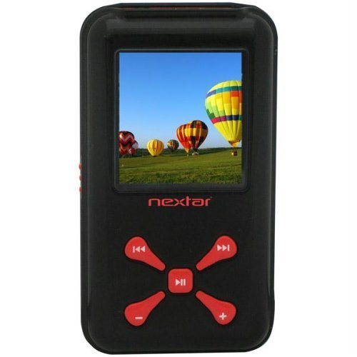 Nextar 2 GB Video MP3 Player (Red)