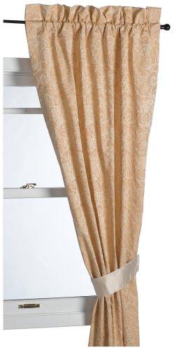 Croscill White Label Desiree 95-Inch Pole-Top Drapery Set