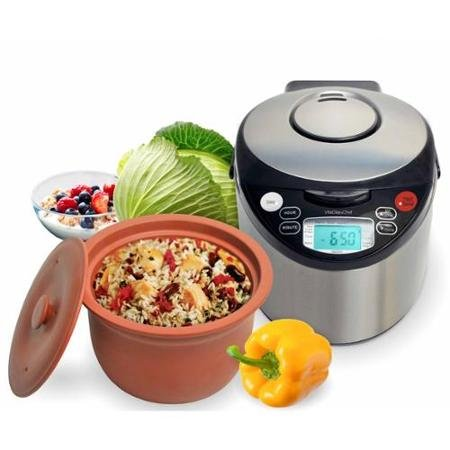 Vitaclay Vm79008 Mulitcooker 8 Cup With An All Natural Clay
