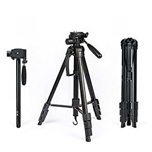 Tripod - InnerTeck 70 Inches Professional Camera Tripod Monopod with Carry Bag for SLR DSLR Canon Nikon Sony DV Video - Travel Portable Tripod